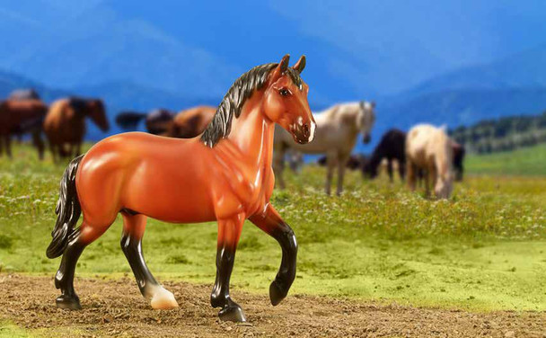 Breyer Horses Classics Mighty Muscle - Draft Horse