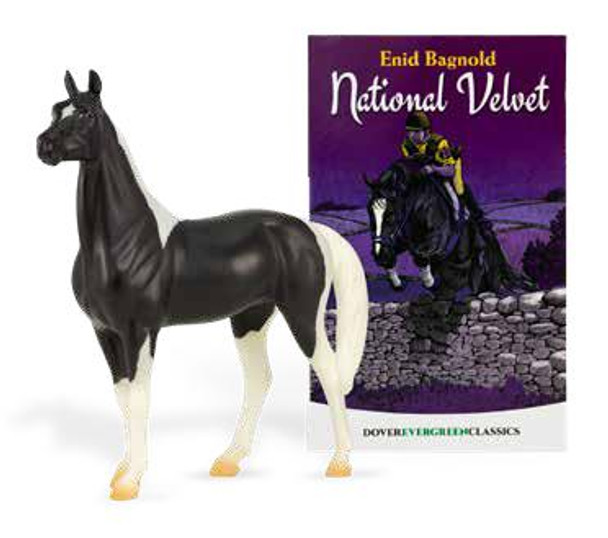 Breyer Horses Classics National Velvet Horse and Book Set