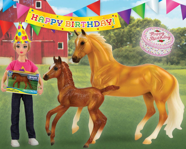 Breyer Horses Classics Birthday at the Barn