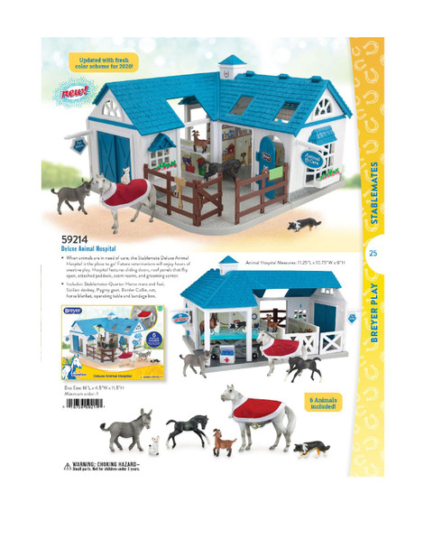 Breyer Horses Stablemate Deluxe Animal Hospital