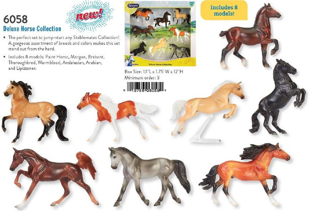 Breyer Horses Stablemate Deluxe Horse Collection