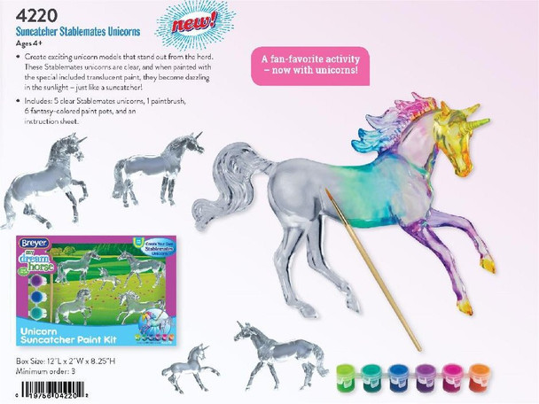 Breyer Horses Stablemate Suncatcher Unicorns