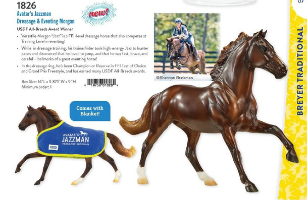 Breyer Horses Avatar's Jazzman PRIME PRICING and Ships Free