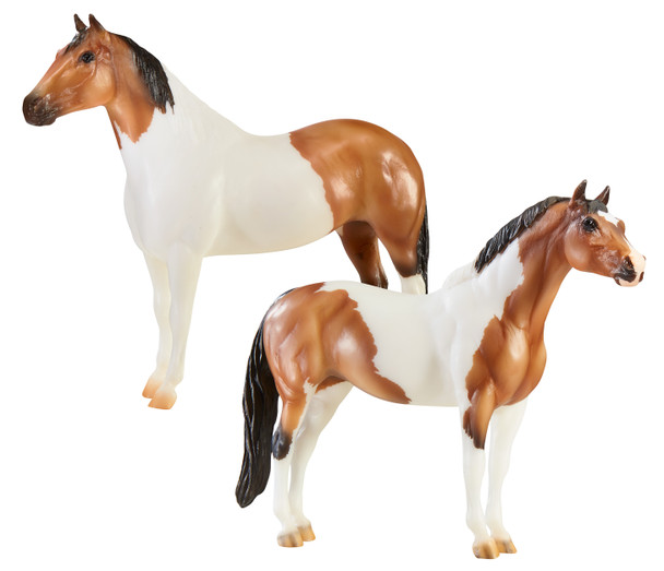 "Breyer Horses The ""Gangsters"" Tony Da Pony and Bugsy Maloney Gift Set"