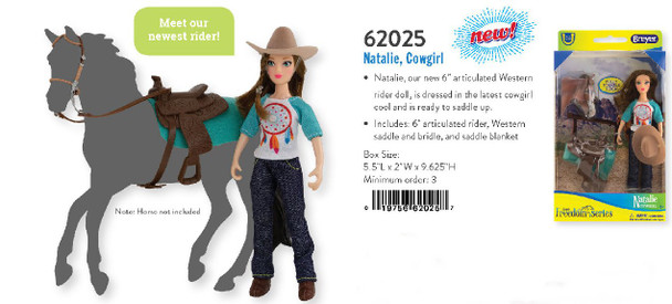 Breyer Horses Classics Natalie Cowgirl