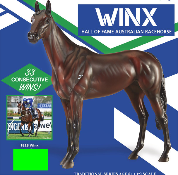 Breyer Horses Winx Hall of Fame Australian Racehorse