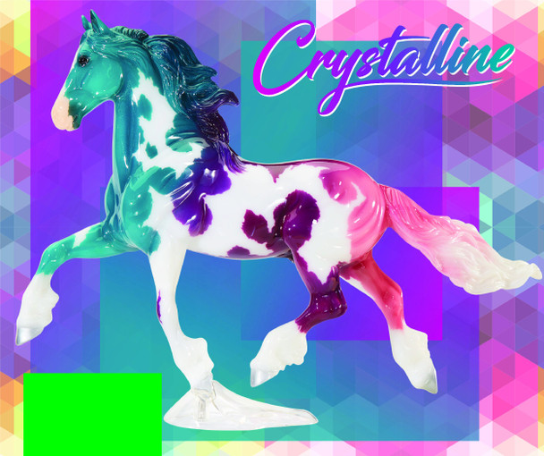 Breyer Horses Crystalline Limited Edition Must Be Ordered by Itself, One Per Order