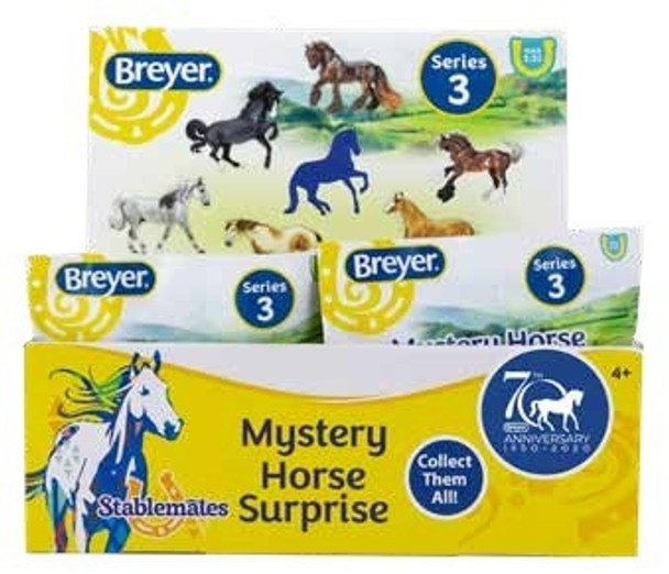Breyer Horses 70TH Anniversary Mystery Horse Surprise - 24 Piece Display
