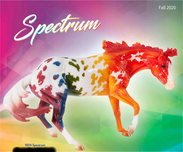 Breyer Horses Spectrum  OUT OF STOCK SHIPS FREE -  ONE PER ORDER PER CUSTOMER; MUST BE ORDERED BY ITSELF