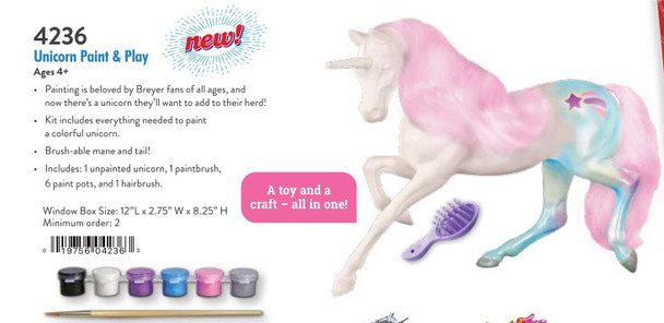 Breyer Horses Unicorn Paint and Play Set