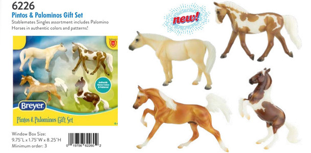Breyer Horses Pintos and Palominos Gift Set