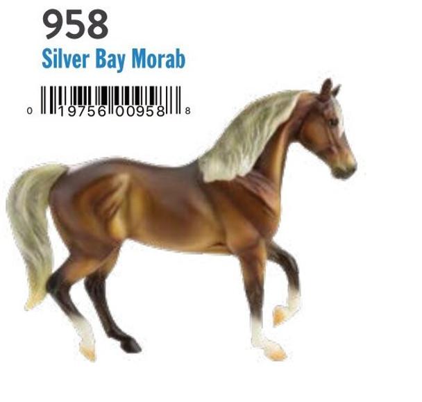 Breyer Horses Classics Silver Bay Morab