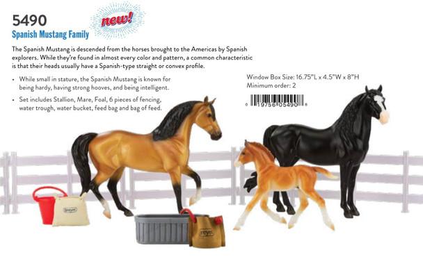 Breyer Horses Classics Spanish Mustang Family