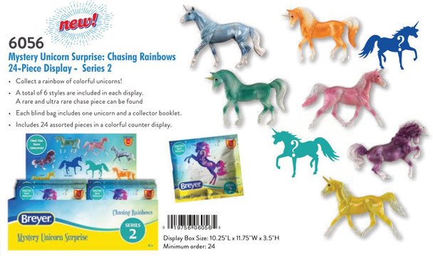 Breyer Horses Stablemate Mystery Unicorn Surprise (24) Chasing Rainbows Series 2