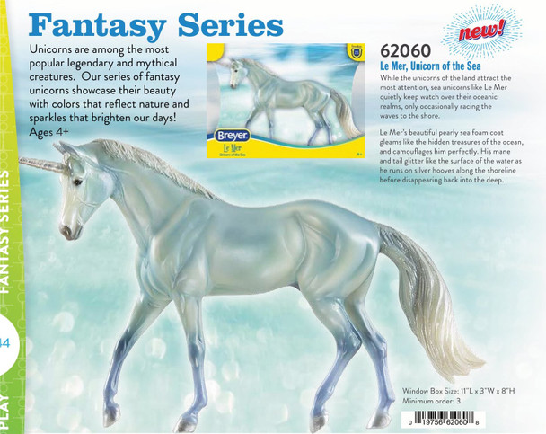 Breyer Horses Classics Le Mer - Unicorn of the Sea