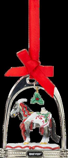 Breyer Horses 2021 Holiday Stirrup Ornament  - Artic Grandeur