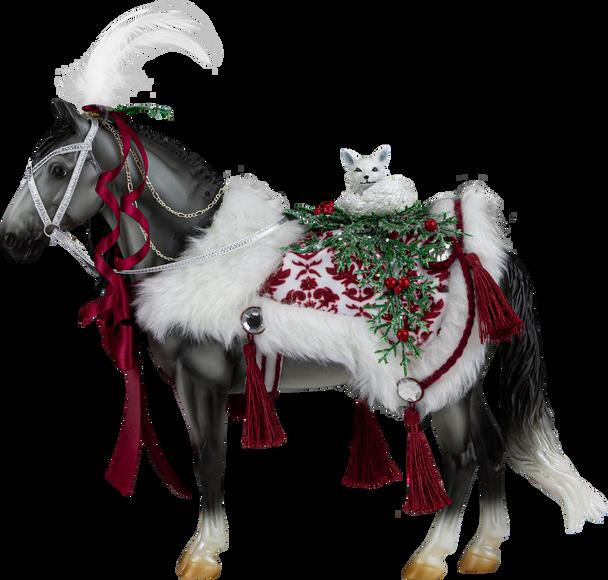 Breyer Horses 2021 Holiday Horse  - Artic Grandeur