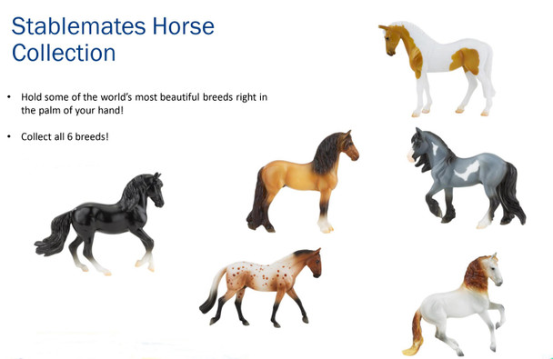 Breyer Horses Stablemate Horse Singles (Set of 6) PRIME Pricing Plus Free Shipping