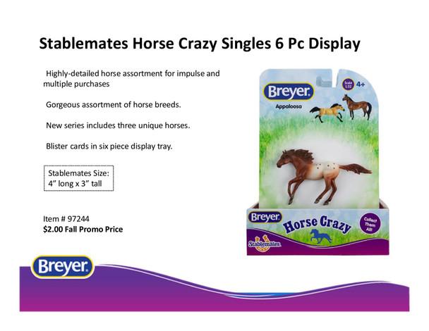 Breyer Horses Stablemates Horse Crazy Set (6)