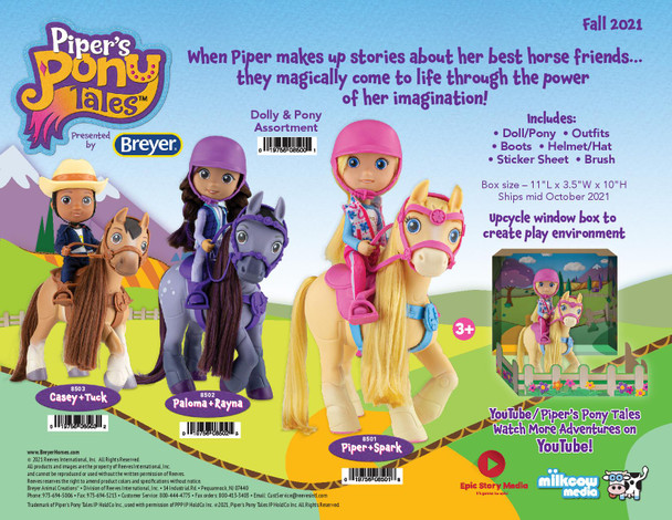 Breyer Horses Pony Tales Piper and Spark
