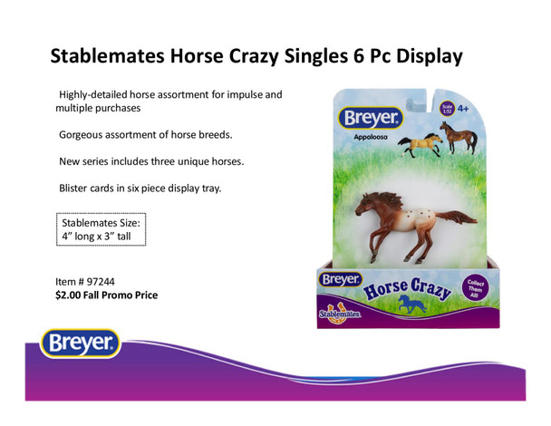 Breyer Horses Stablemates Horse Crazy Set (3) PRIME PRICING plus FREE SHIPPING