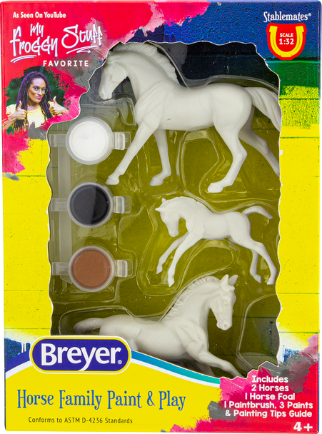 Breyer Horses Family Paint and Play