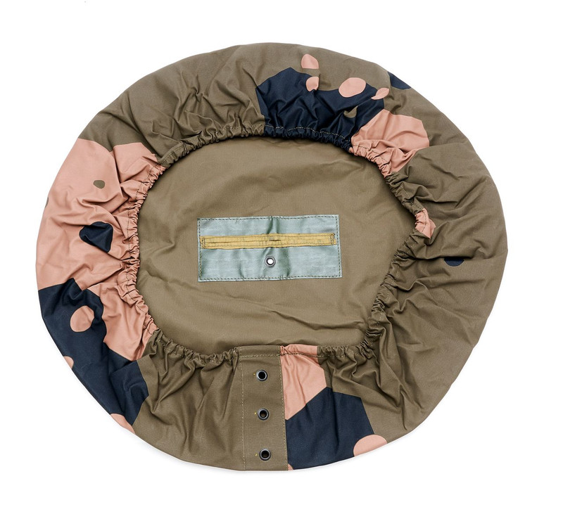 Spare Wheel Cover for Land Rover 110 Perentie - military spec canvas - made in Australia