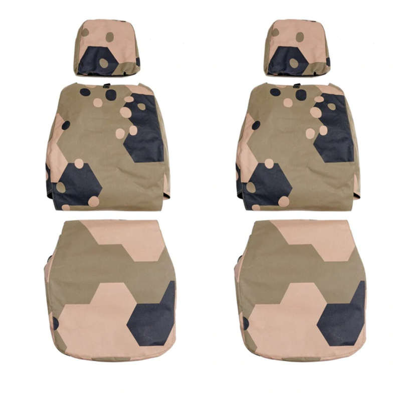Seat Covers for Land Rover 110 Perentie - military spec canvas - made in Australia