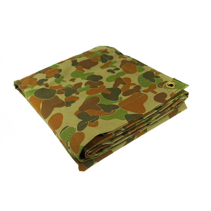 Rabbit Ears Green Australian Military Canvas Heavy Duty Tarp
