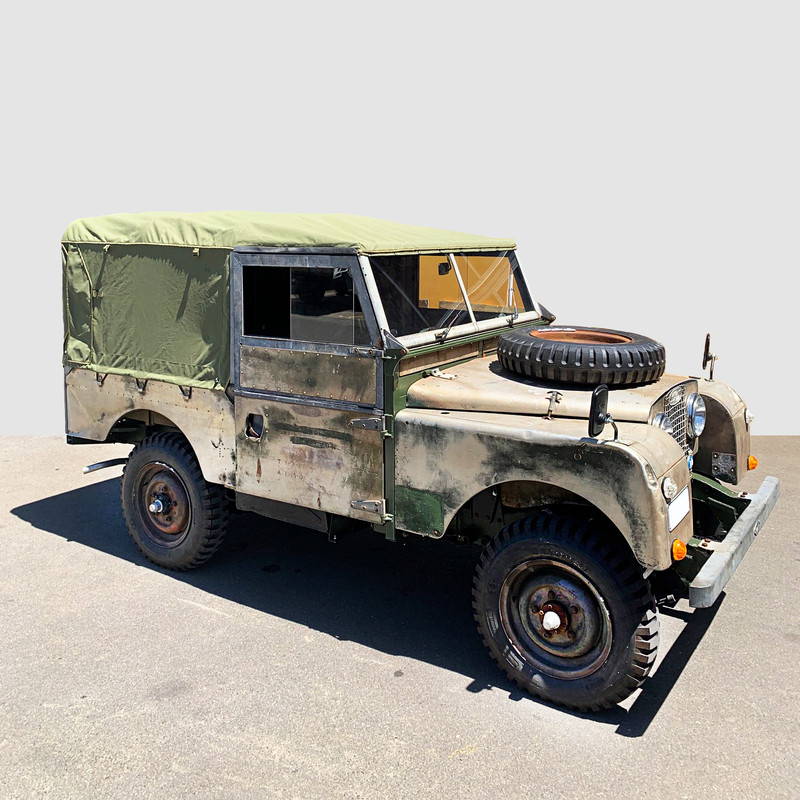 1968 Land Rover Series 1 Canvas Canopy - Australian Made