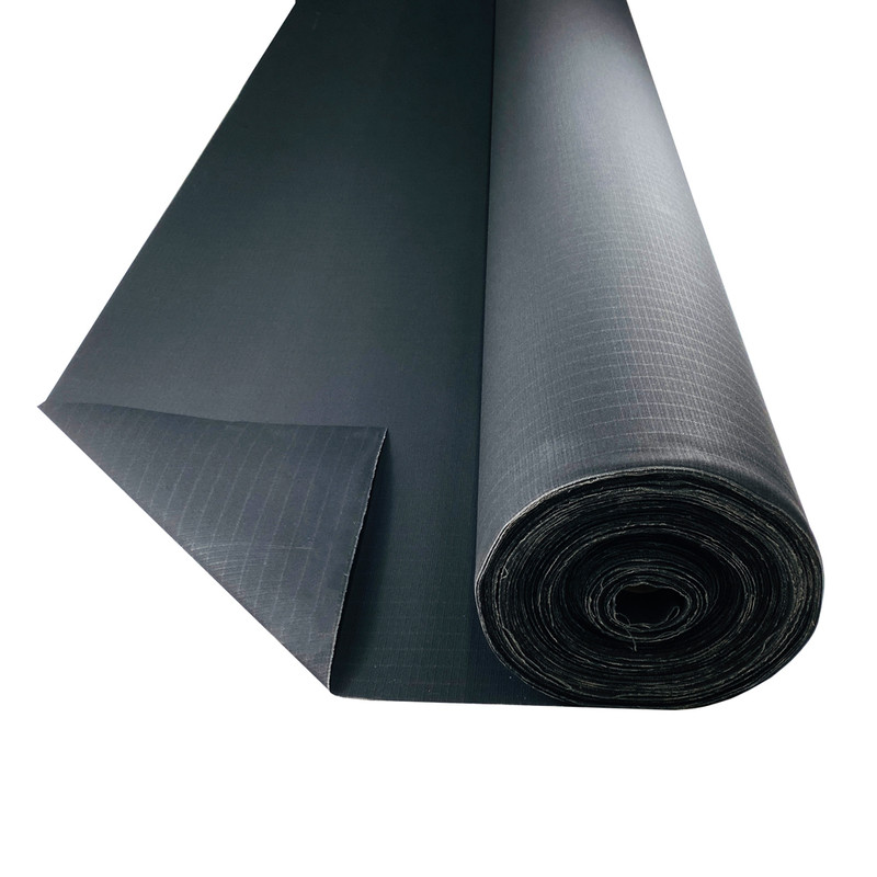 Bullduck Tear Stop Black Canvas - Buy by the Metre. HIGH QUALITY TEAR PROOF BLACK CANVAS. AUSTRALIA MADE BLACK CANVAS HIGH QUALITY