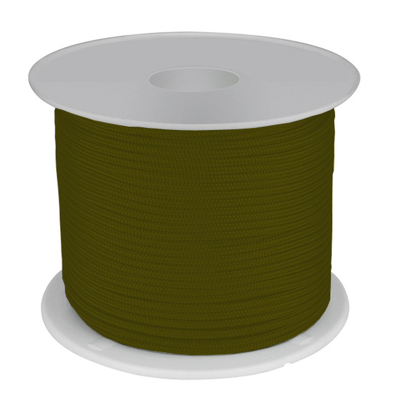 4mm army green polyester cordage