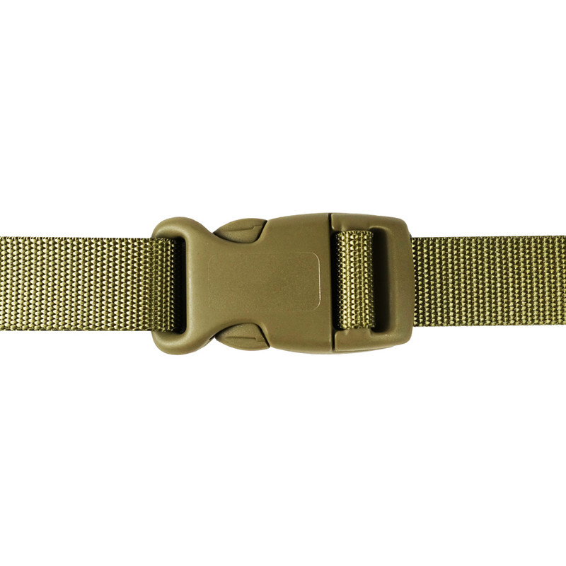 25mm khaki curved side release buckle