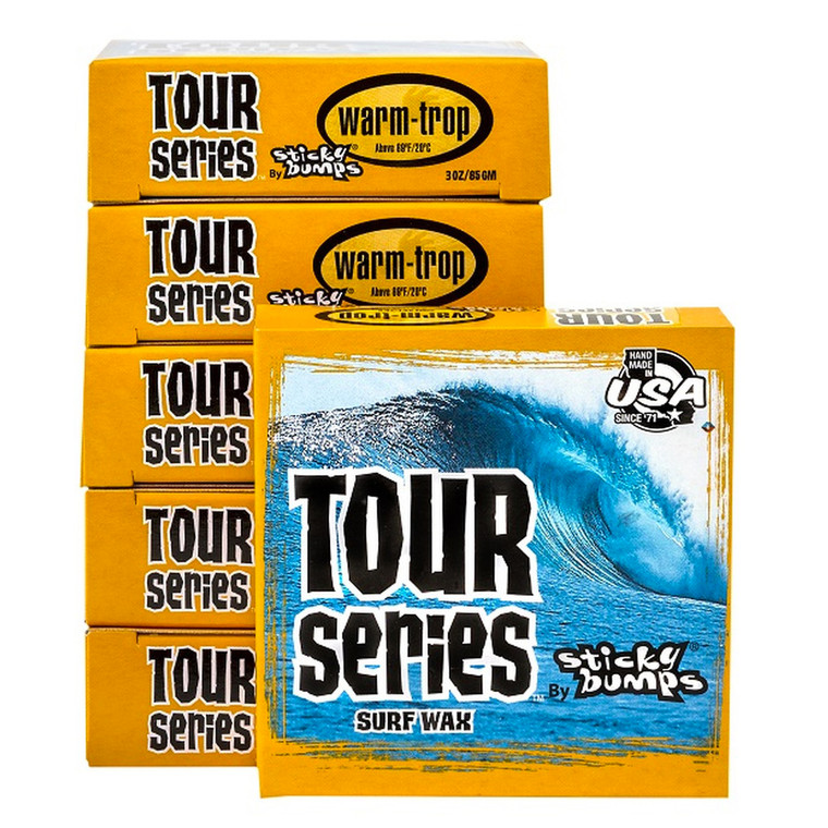 Sticky Bumps Tour Series for Warm Tropical Waters