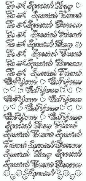 To a Special Friend Sticker
