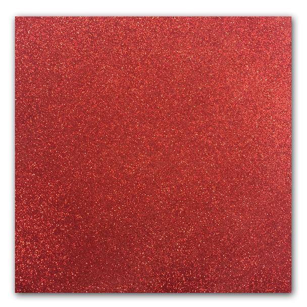 Glitter Ritz Opaque Micro Fine Glitter, Fire Red, 1/2 oz
