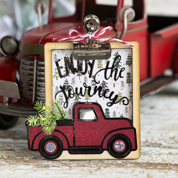 Vintage Truck Ornament Kit