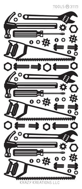 Tools Outline Sticker