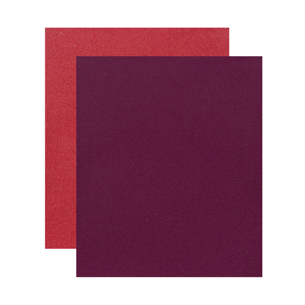 "Micro Fine Glitter Paper, Garnet/Regal Red  5"" x 6"", 2 Sheets"