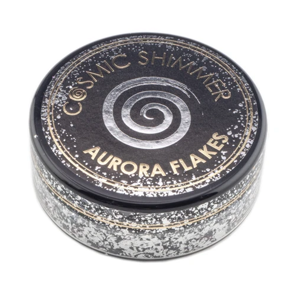 Cosmic Shimmer Aurora Flakes, Black Diamond