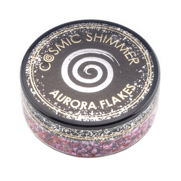 Cosmic Shimmer Aurora Flakes, Blissful Berry