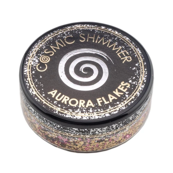 Cosmic Shimmer Aurora Flakes, Golden Rose