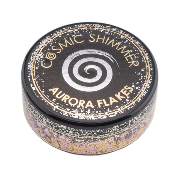 Cosmic Shimmer Aurora Flakes, Morning Blush