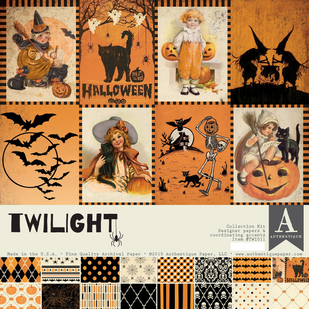Authentique Paper Twilight 12x12 Collection Kit