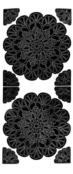 Mandala 2 Outline Sticker