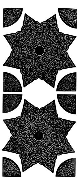 Mandala 6 Outline Sticker