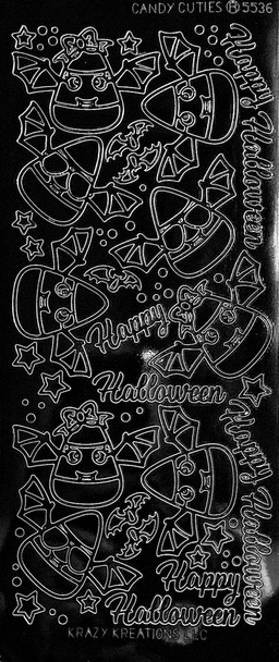 Candy Cuties Outline Sticker