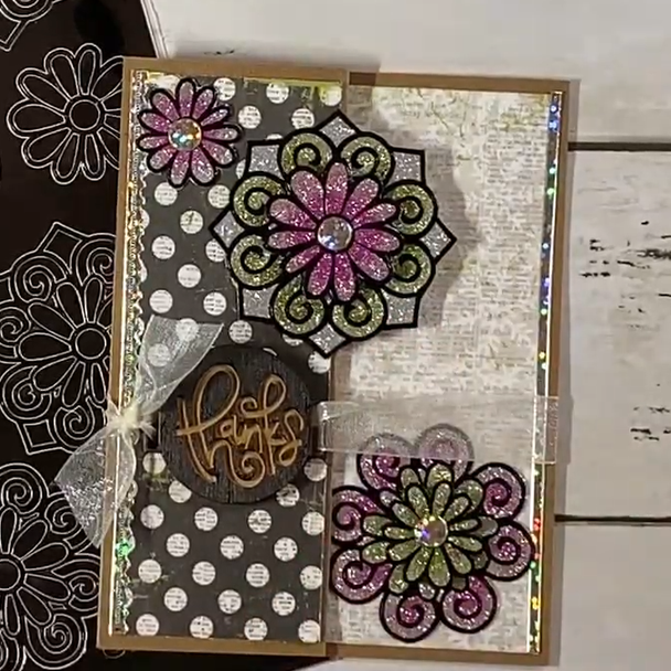Snowflake Cards Craft-along Kit (One of a Kind 1/16)