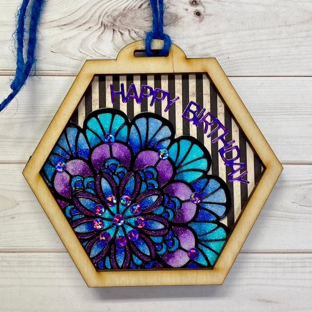 Mandala Gift Tag  Craft-along Kit (One of a Kind 2/6)