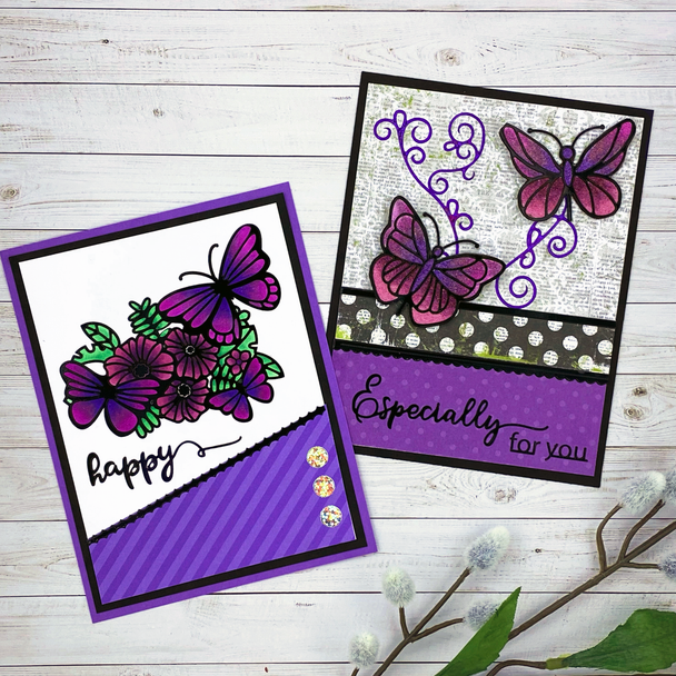 Online Class: Coloring Series - Violets (4/10)